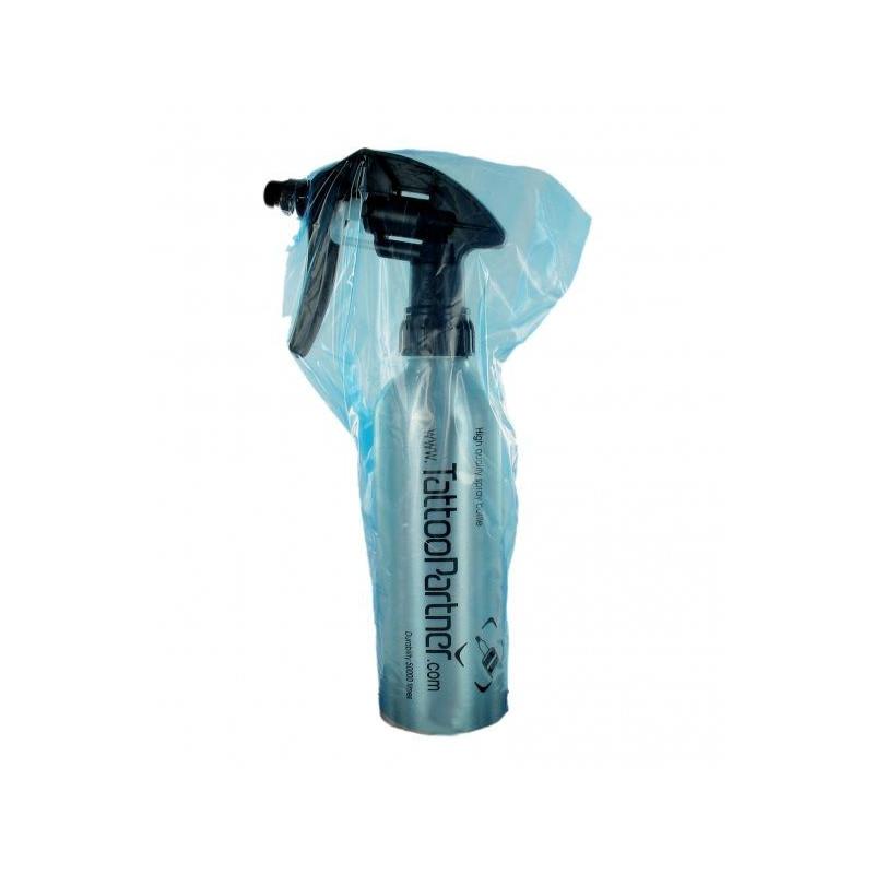 Waschflaschenbeutel 15x25cm, 250 Stück  Verbrauchsartikel Tattoobedarf
