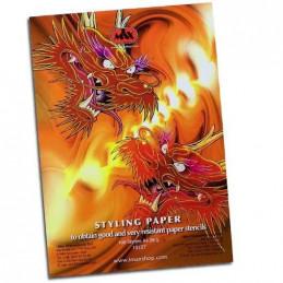 Transparent Papier, extra dünn 100 Blatt  Papier Tattoobedarf