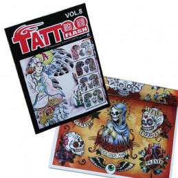 Professional Tattoo Flash Magazin - Vol 8  Bücher / DVDs Tattoobedarf