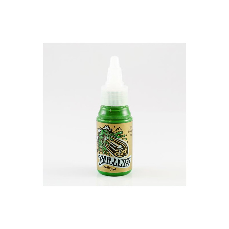 Bullets Poison Ivy 35 ml Tattoofarbe