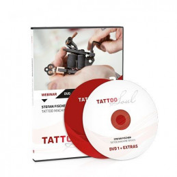 Stefan Fischer - Tattoo Machine Basics, DVD  Bücher / DVDs Tattoobedarf