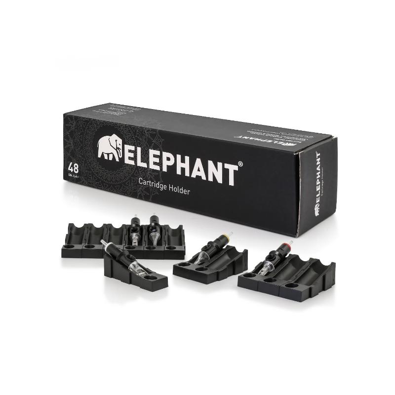 Elephant Nadelmodul-Halter, 48 Stück  Verbrauchsartikel Tattoobedarf