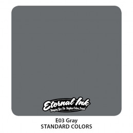 Eternal Ink - Gray, 30 ml Tattoofarbe Eternal Ink Standard Colors Tattoobedarf