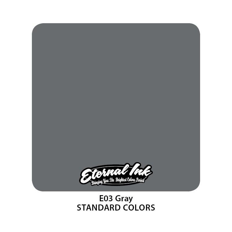 Eternal Ink - Gray, 30 ml Tattoofarbe Eternal Ink Standard Colors Tattoobedarf