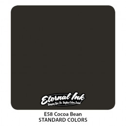 Eternal Ink - Cocoa Bean, 30 ml Tattoofarbe *MHD 12/2021* Eternal Ink Standard Colors Tattoobedarf
