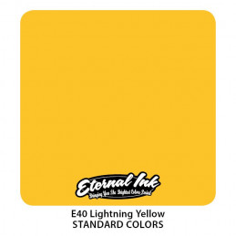 Eternal Ink - Lightning Yellow, 30 ml Tattoofarbe Eternal Ink Standard Colors Tattoobedarf