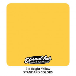 Eternal Ink - Bright Yellow, 30 ml Tattoofarbe *MHD 12/2021* Eternal Ink Standard Colors Tattoobedarf