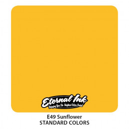 Eternal Ink - Sunflower, 30 ml Tattoofarbe Eternal Ink Standard Colors Tattoobedarf