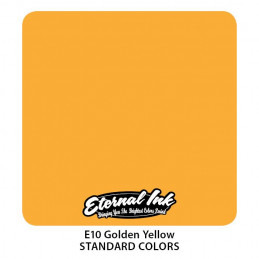 Eternal Ink - Golden Yellow, 30 ml Tattoofarbe *MHD 12/2021 Eternal Ink Standard Colors Tattoobedarf