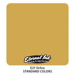 Eternal Ink - Ochre, 30 ml Tattoofarbe *MHD 12/2021* Eternal Ink Standard Colors Tattoobedarf