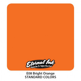 Eternal Ink - Bright Orange, 30 ml Tattoofarbe Eternal Ink Standard Colors Tattoobedarf