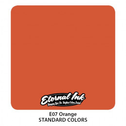 Eternal Ink - Orange, 30 ml Tattoofarbe *MHD 12/2021* Eternal Ink Standard Colors Tattoobedarf
