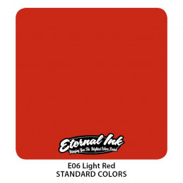 Eternal Ink - Light Red, 30 ml Tattoofarbe Eternal Ink Standard Colors Tattoobedarf