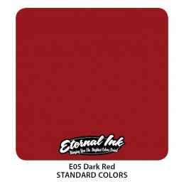 Eternal Ink - Dark Red, 30 ml Tattoofarbe Eternal Ink Standard Colors Tattoobedarf