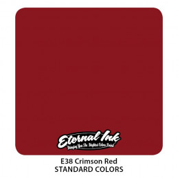 Eternal Ink - Crimson Red, 30 ml Tattoofarbe Eternal Ink Standard Colors Tattoobedarf