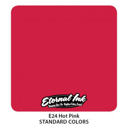 Eternal Ink - Hot Pink, 30 ml Tattoofarbe *MHD 12/2021* Eternal Ink Standard Colors Tattoobedarf