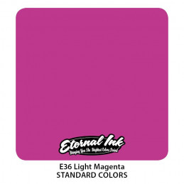 Eternal Ink - Light Magenta, 30 ml Tattoofarbe Eternal Ink Standard Colors Tattoobedarf