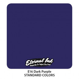 Eternal Ink - Dark Purple, 30 ml Tattoofarbe *MHD 12/2021* Eternal Ink Standard Colors Tattoobedarf