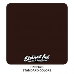 Eternal Ink - Plum, 30 ml Tattoofarbe *MHD 12/2021* Eternal Ink Standard Colors Tattoobedarf