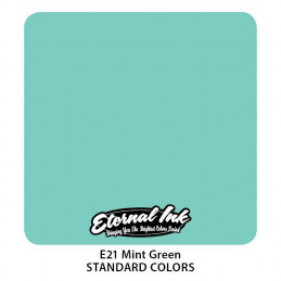 Eternal Ink - Mint Green, 30 ml Tattoofarbe Eternal Ink Standard Colors Tattoobedarf