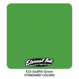 Eternal Ink - Graffiti Green, 30 ml Tattoofarbe Eternal Ink Standard Colors Tattoobedarf