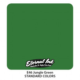 Eternal Ink - Jungle Green, 30 ml Tattoofarbe Eternal Ink Standard Colors Tattoobedarf