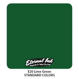 Eternal Ink - Lime Green, 30 ml Tattoofarbe Eternal Ink Standard Colors Tattoobedarf