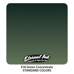 Eternal Ink - Green Concentrate, 30 ml Tattoofarbe *MHD 12/2021* Eternal Ink Standard Colors Tattoobedarf