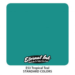 Eternal Ink - Tropical Teal, 30 ml Tattoofarbe Eternal Ink Standard Colors Tattoobedarf