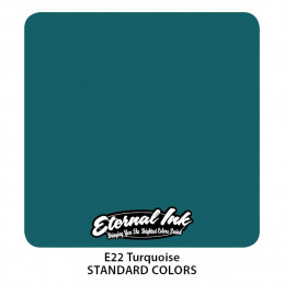 Eternal Ink - Turquoise, 30 ml Tattoofarbe Eternal Ink Standard Colors Tattoobedarf