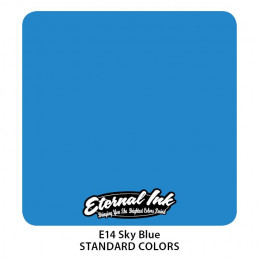 Eternal Ink - Sky Blue, 30 ml Tattoofarbe Eternal Ink Standard Colors Tattoobedarf