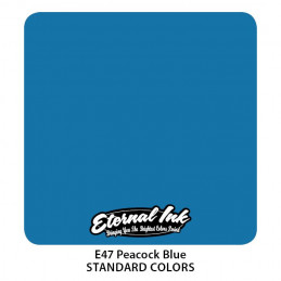 Eternal Ink - Peacock Blue, 30 ml Tattoofarbe Eternal Ink Standard Colors Tattoobedarf