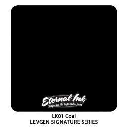 Eternal Ink Levgen - Coal Black, 30 ml Tattoofarbe Eternal Ink Levgen Signature Series Tattoobedarf
