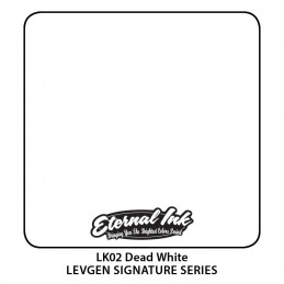 Eternal Ink Levgen - Dead White, 30 ml Tattoofarbe Eternal Ink Levgen Signature Series Tattoobedarf