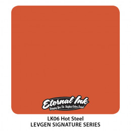 Eternal Ink Levgen - Hot Steel, 30 ml Tattoofarbe Eternal Ink Levgen Signature Series Tattoobedarf