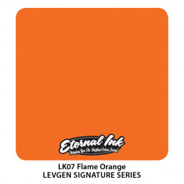 Eternal Ink Levgen - Flame Orange, 30 ml Tattoofarbe Eternal Ink Levgen Signature Series Tattoobedarf