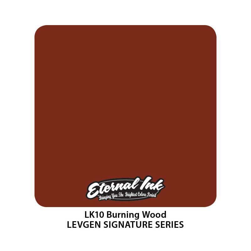 Eternal Ink Levgen - Burning Wood, 30 ml Tattoofarbe Eternal Ink Levgen Signature Series Tattoobedarf