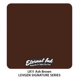 Eternal Ink Levgen - Ash Brown, 30 ml Tattoofarbe Eternal Ink Levgen Signature Series Tattoobedarf