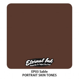 Eternal Ink Portrait - Sable, 30 ml Tattoofarbe Eternal Ink Portrait Skin Tones Tattoobedarf