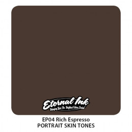Eternal Ink Portrait - Rich Espresso, 30 ml Tattoofarbe Eternal Ink Portrait Skin Tones Tattoobedarf