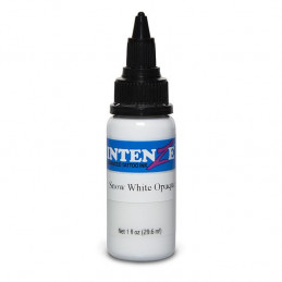 Intenze Ink Snow White Opaque, 29ml Tattoofarbe Intenze Ink Intenze Single Colors Tattoobedarf