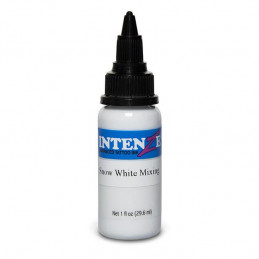 Intenze Ink Snow White Mixing, 29ml Tattoofarbe Intenze Ink Intenze Single Colors Tattoobedarf
