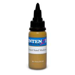 Intenze Ink Desert Sand Medium, 29ml Tattoofarbe Intenze Ink Intenze Single Colors Tattoobedarf