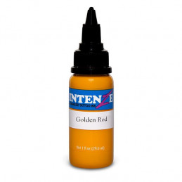 Intenze Ink Golden Rod, 29ml Tattoofarbe Intenze Ink Intenze Single Colors Tattoobedarf