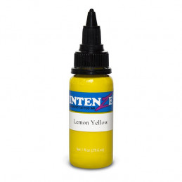 Intenze Ink Lemon Yellow, 29ml Tattoofarbe Intenze Ink Intenze Single Colors Tattoobedarf