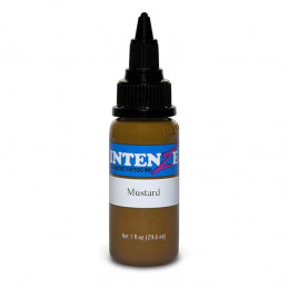 Intenze Ink Mustard, 29ml Tattoofarbe Intenze Ink Intenze Single Colors Tattoobedarf