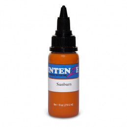 Intenze Ink Sunburn, 29ml Tattoofarbe Intenze Ink Intenze Single Colors Tattoobedarf