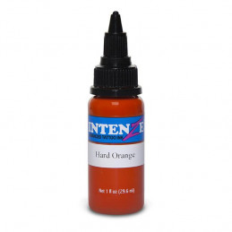 Intenze Ink Hard Orange, 29ml Tattoofarbe Intenze Ink Intenze Single Colors Tattoobedarf