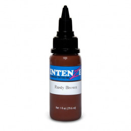 Intenze Ink Rusty Brown, 29ml Tattoofarbe Intenze Ink Intenze Single Colors Tattoobedarf