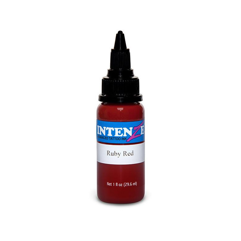 Intenze Ink Ruby Red, 29ml Tattoofarbe Intenze Ink Intenze Single Colors Tattoobedarf